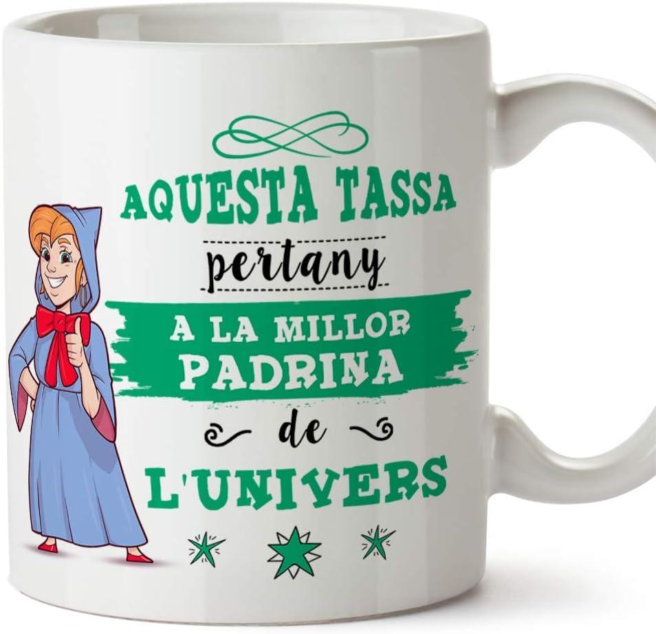 MUGFFINS Taza Madrina (En Catalán) -
