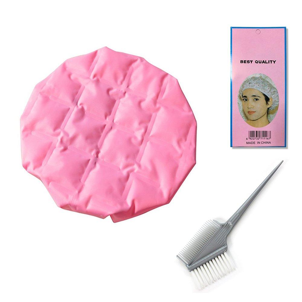 Betterhill Thermal Heat Hair Cap Micro Cap Cheveux Au Micro-ondes Imperméable Bonnet Chapeau Douche Soin Accessoire