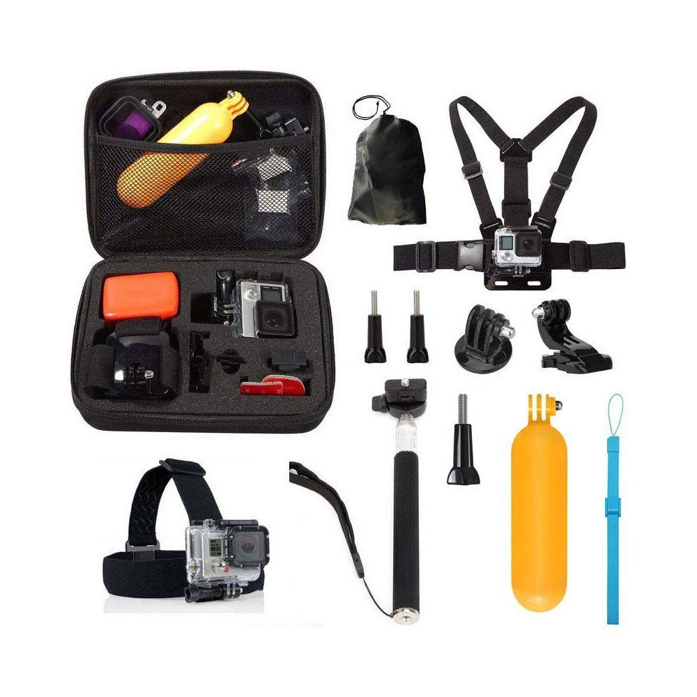 10 in1 Straps Accessories Kit for GoPro Hero 5 4 Session 3+ 3 YI Action Camera - Quarkscm HeavenSense tJq818149