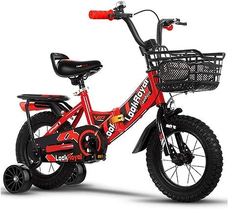 TD Bicicleta para Niños Bicicleta Plegable Niño 2-3-4-5-6-7-10 ...