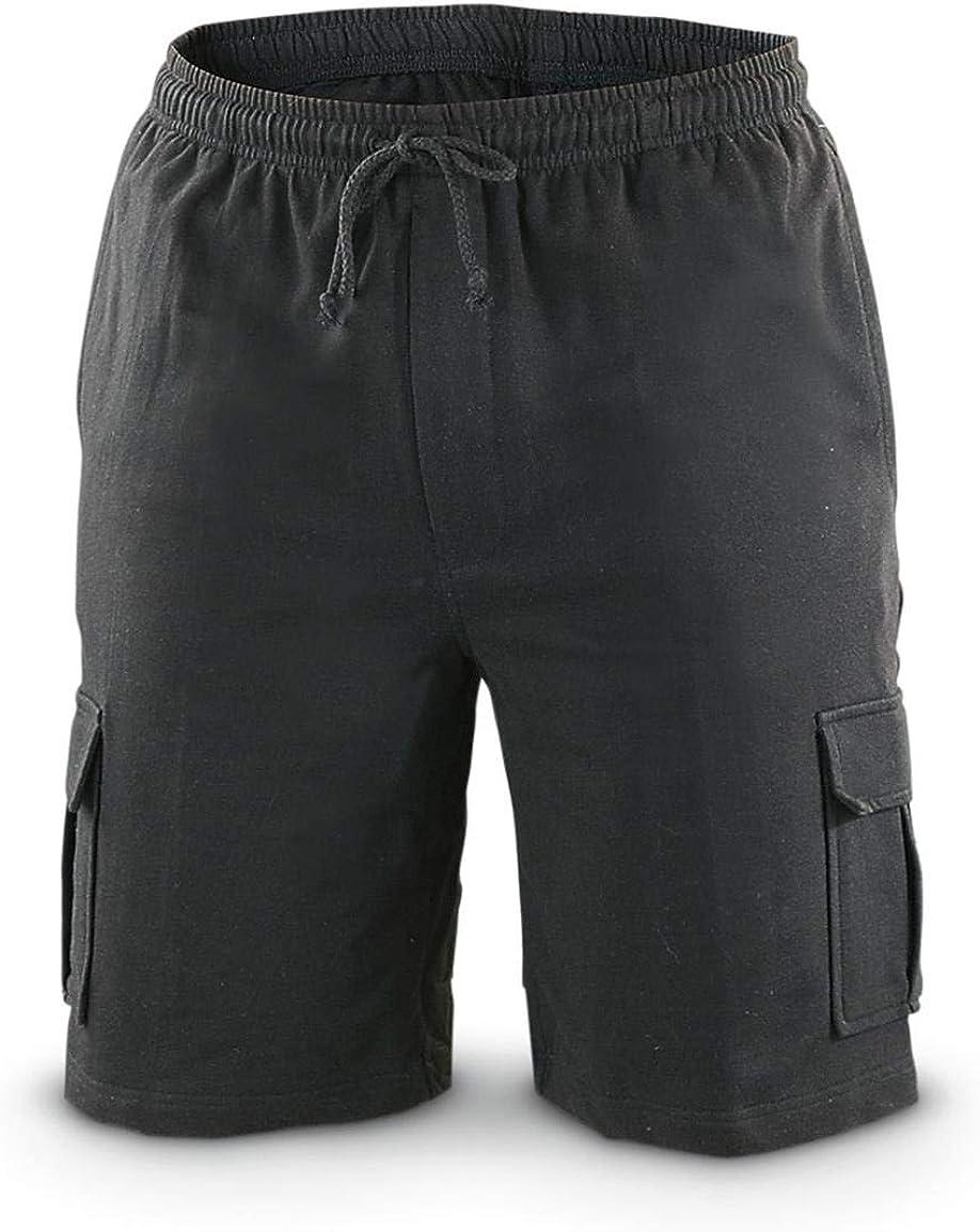 Guide Gear Men's Knit Cargo Shorts