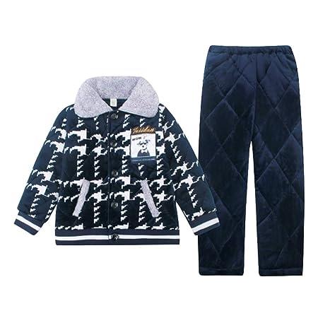 Pijamas dos piezas Pijama Traje Acolchado Chico Acolchado Pijama ...