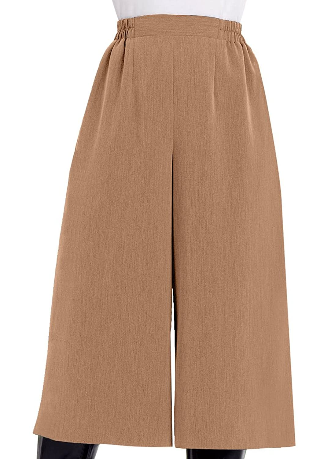 1920s Skirts, Gatsby Skirts, Vintage Pleated Skirts Flat Front Culottes  AT vintagedancer.com