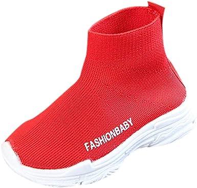 IGEMY- Zapatillas deportivas de malla para niños y niñas (4,5 ...