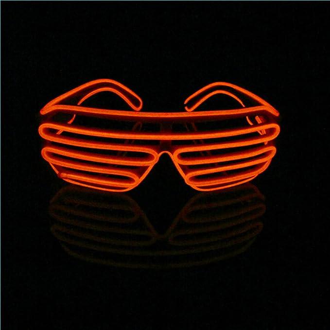 1 opinioni per Lerway- Divertenti occhiali luminosi da festa con montatura luminosa, luce a
