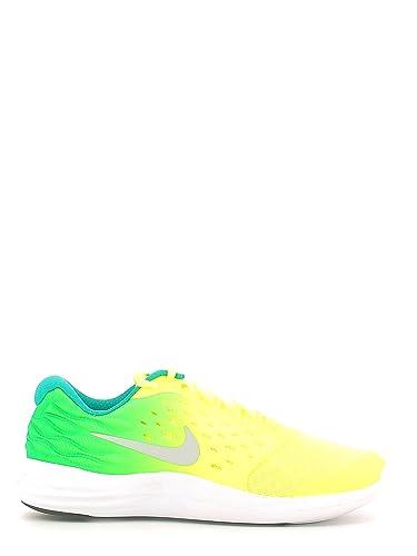 sports shoes af025 ce8ff Nike Lunarstelos (GS), Chaussures de Running Entrainement garçon, Amarillo  (Volt/