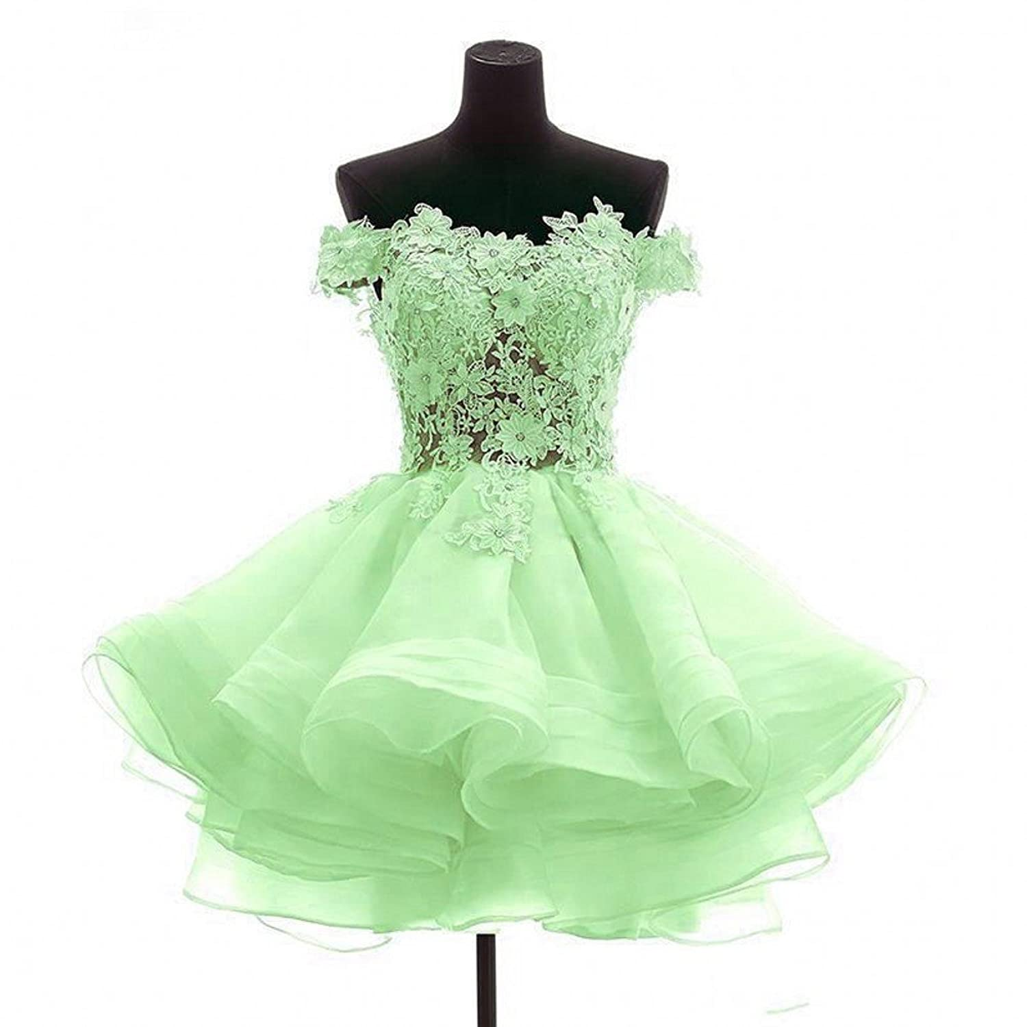 CCBubble 8th Grade Prom Dresses 2017 Lace Homecoming Graduation Dresses