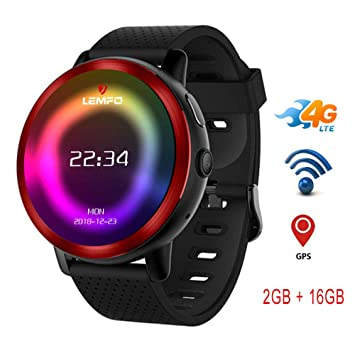 TLgf Reloj 4G Smart Watch LTE, cámara de 2GB + 16GB 2MP ...