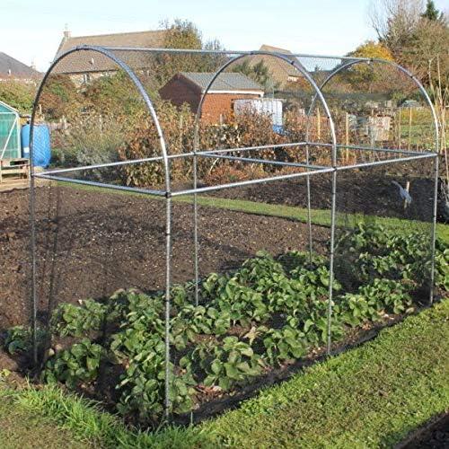 Estructura alta y abovedada para huerto de frutas y verduras ...