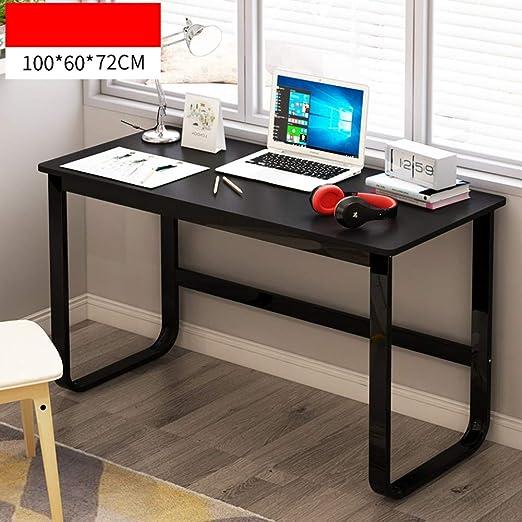 JiaQi Simple Mesa De Estudio,Grande Escritorio De La Computadora ...