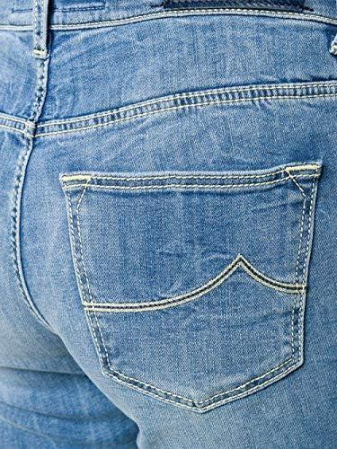 Jacob Cohen Zaira Jeans Bleu à Pattes