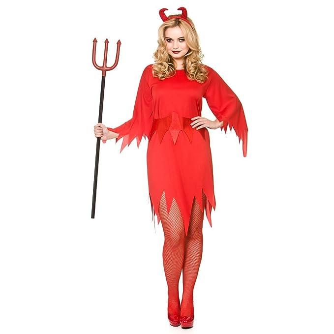 Adult Female Wicked Devil Costume Halloween Fancy Dress