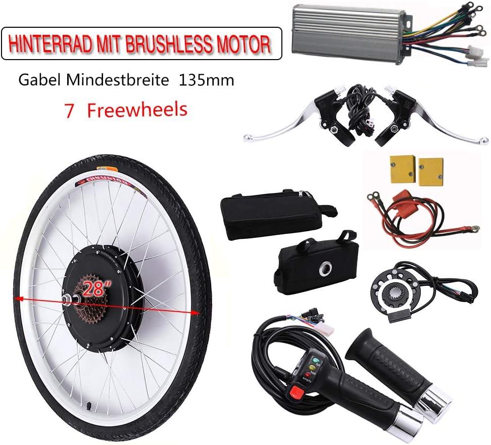 OUKANING - Kit de conversión para Bicicleta eléctrica de 28