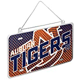 Forever Collectibles Auburn Tigers Official NCAA 4 inch x 2 inch Metal License Plate Christmas Ornament by 235496