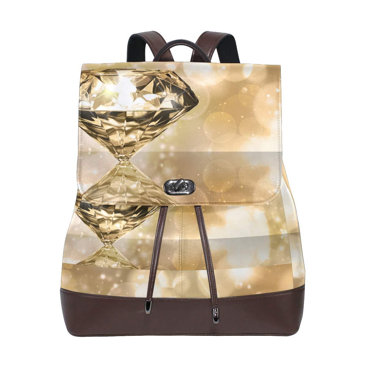 FAJRO giallo Shinning Diamondtravel zaino borsa scuola confezione