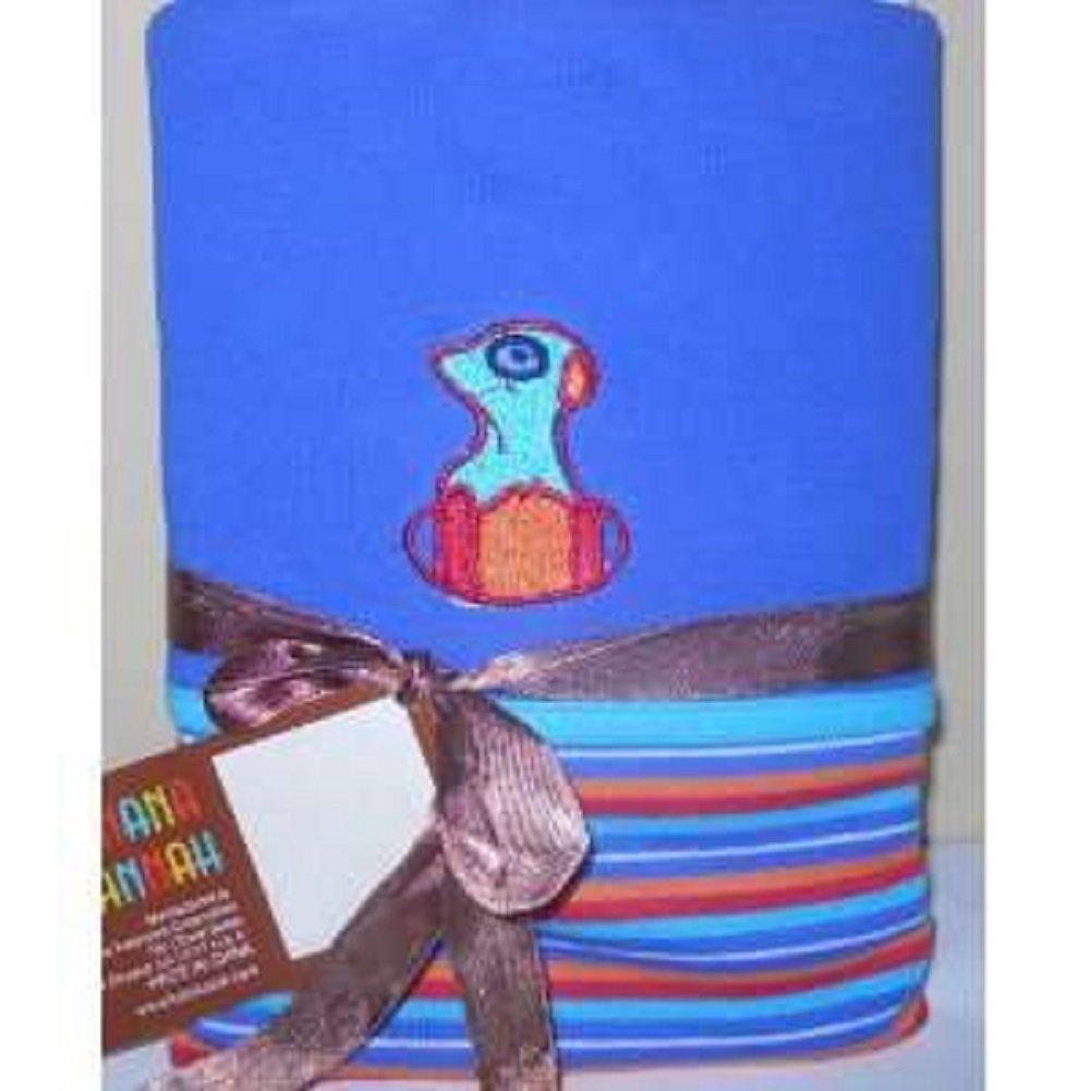 Kalencom Eleanor Baby Reversible Wrap Blanket – Meerat   B0714L2GJ7