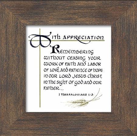 Appreciation scriptures for pastors