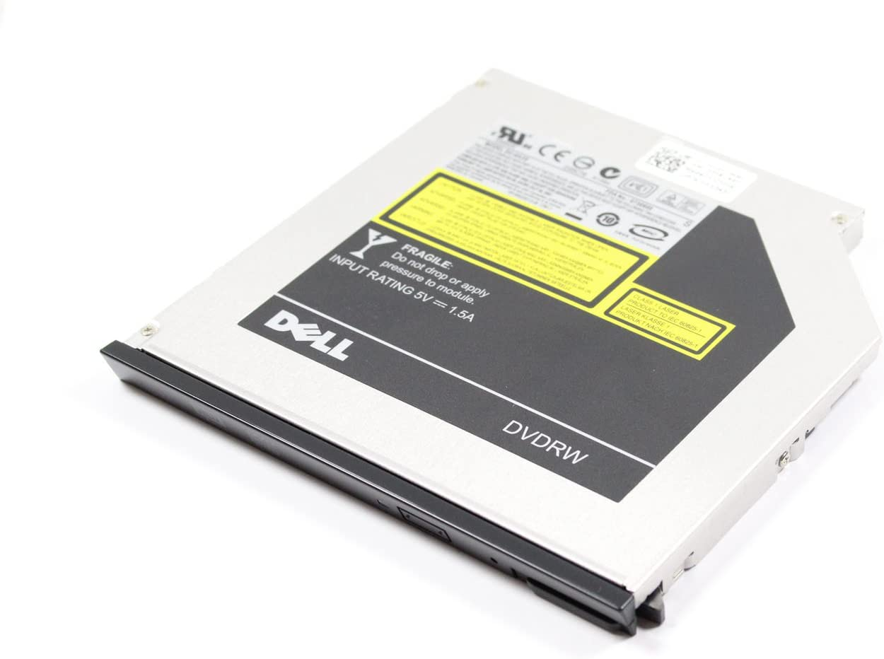 Genuine Dell Slimline Slim CD/RW DVD/RW CD/DVD ± RW SATA Burner Internal Optical Drive For Latitude E4200, E4210, E4300, E4310, E5410, E5500, E5510, E6400, E6410, E6500, E6510, XT2, Z600, and Precision Mobile WorkStation M2400, M4400 Systems. Compatible Part Numbers: XX243, N245K, DU-8A2S, F040J, V42F8
