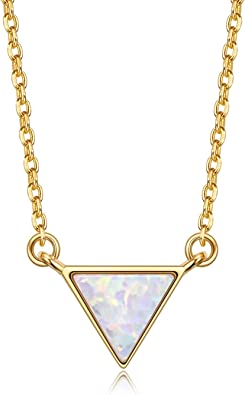 Triangle 14k solid gold perfect gift valentine birthday or anniversary size 7