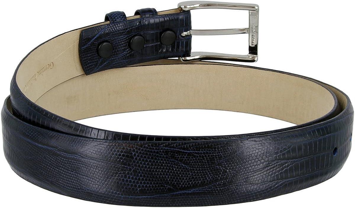 Adam Mens Genuine Italian Calfskin Leather Dress Belt 30mm 1-1//8 Wide LNVY,32