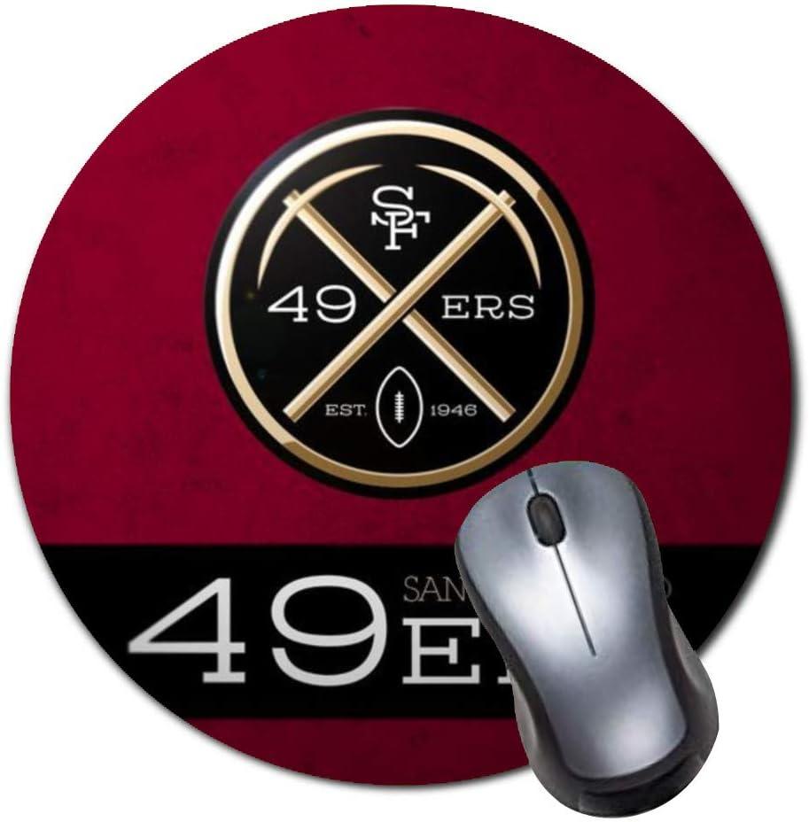 Heroa Round Mouse Pad Custom,49ers