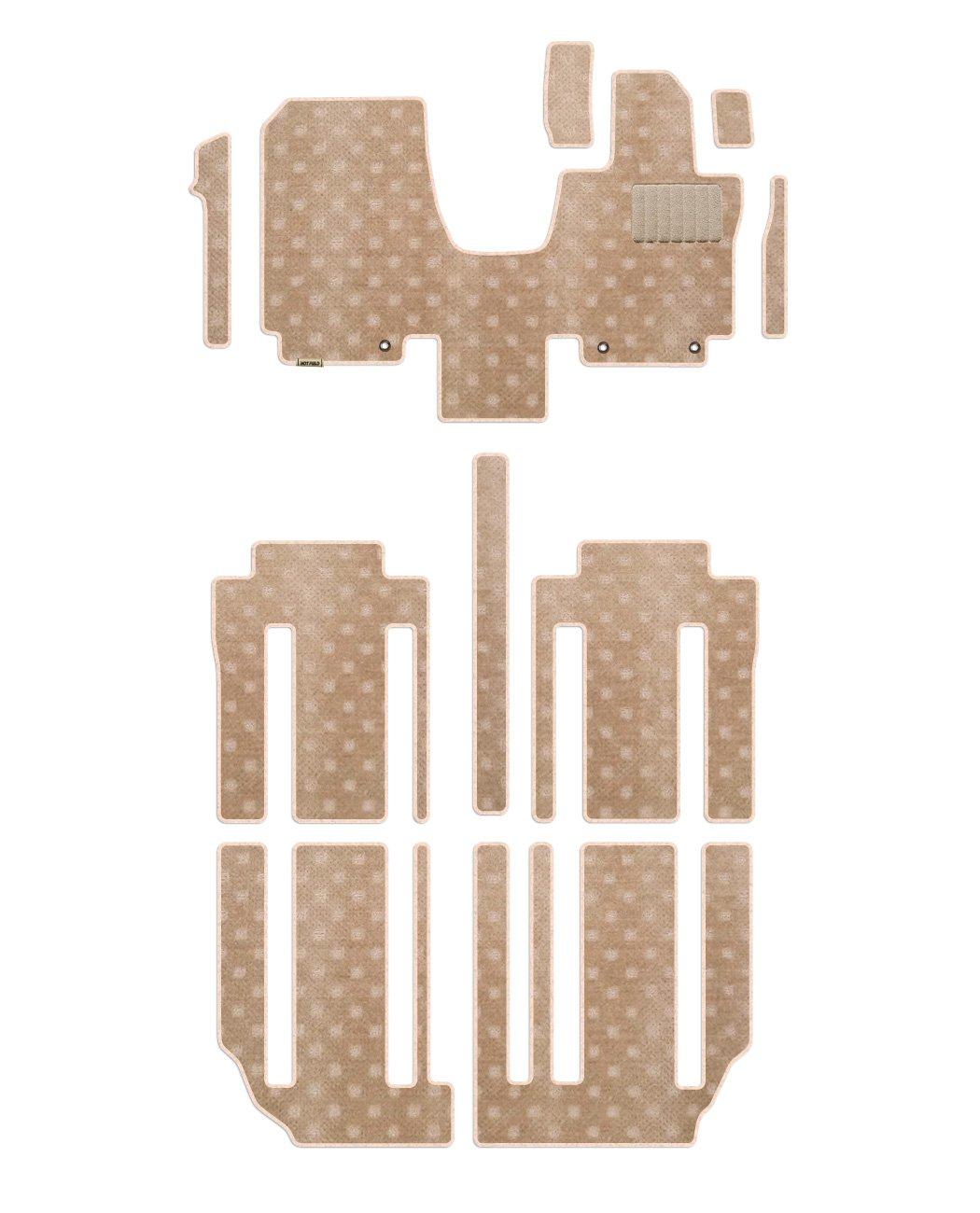 Hotfield 日産 セレナ C27系 (ガソリン車) フロアマット STDベージュ 【A:フロント一体:パーツ分割/超ロングスライド仕様】 B01LGJZ38W 【A:フロント一体:パーツ分割 / 超ロングスライド仕様】 STDベージュ STDベージュ 【A:フロント一体:パーツ分割 / 超ロングスライド仕様】