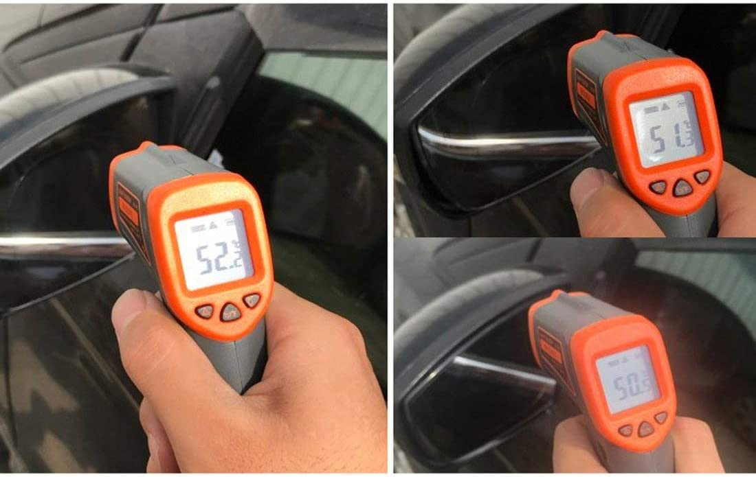 Formulaioue Car Rear View Mirror Film Protector Against Fog Clear Window Rain Proof Wing Mirror Film Protector Soft Car Accessories Transparent