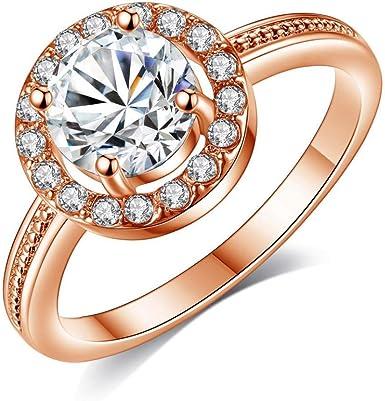 Amazon Com Engagement Wedding Anniversary Band Ring Cuekondy