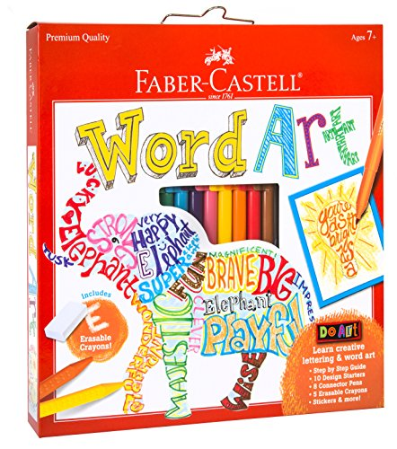 Faber-Castell-14307-Do-Art-Word-Art-Playset