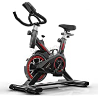 Scenic Exercise Spin Bike Home Gym Workout Equipment Cycling Fitness Bicycle Black