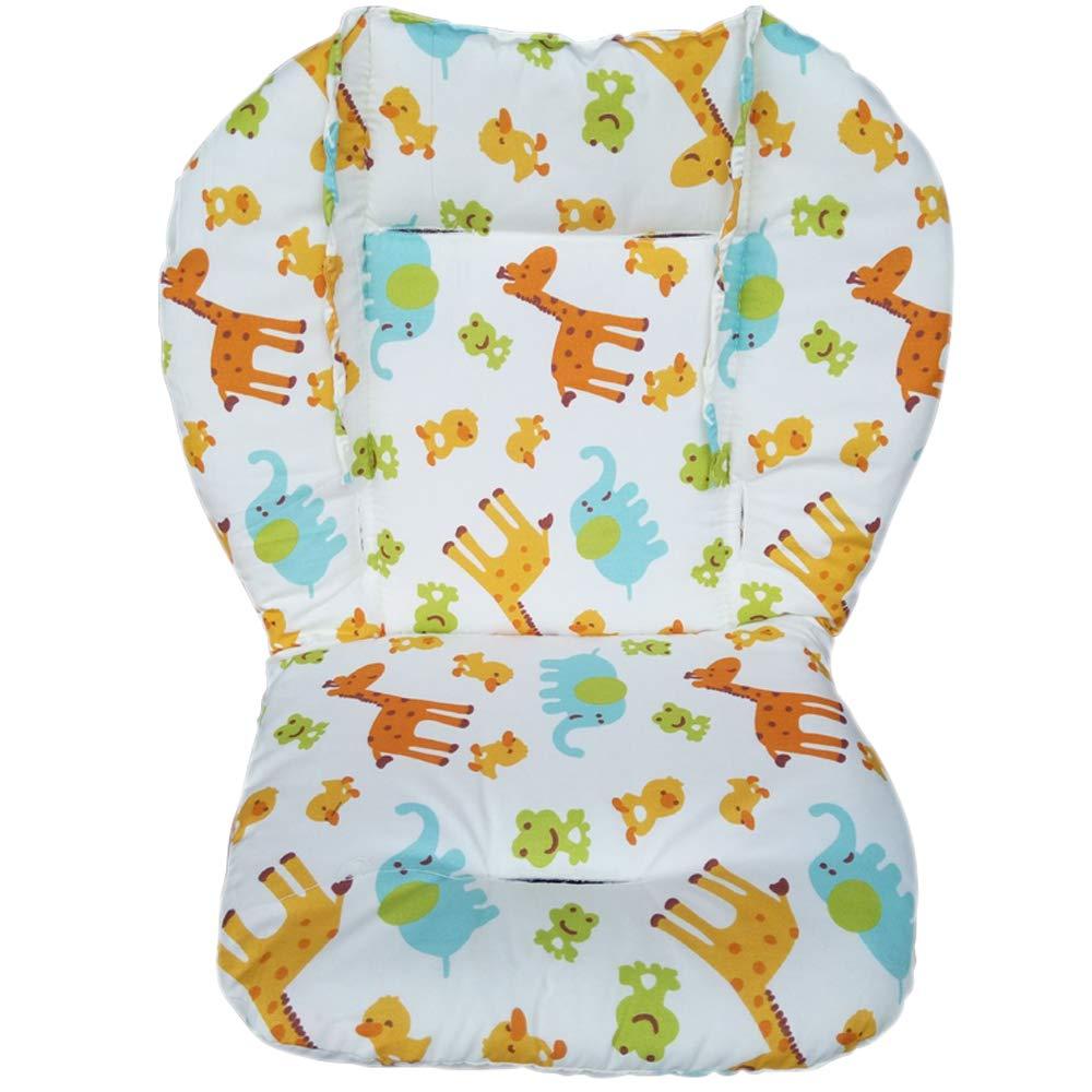 Autotipps Baby Kinderwagen/Auto/Hochstuhl Sitzkissen rutschsicher Matte Pad Cover Protector Animal atmungsaktiv wasserabweisend mit Pentagramm und Tierbild