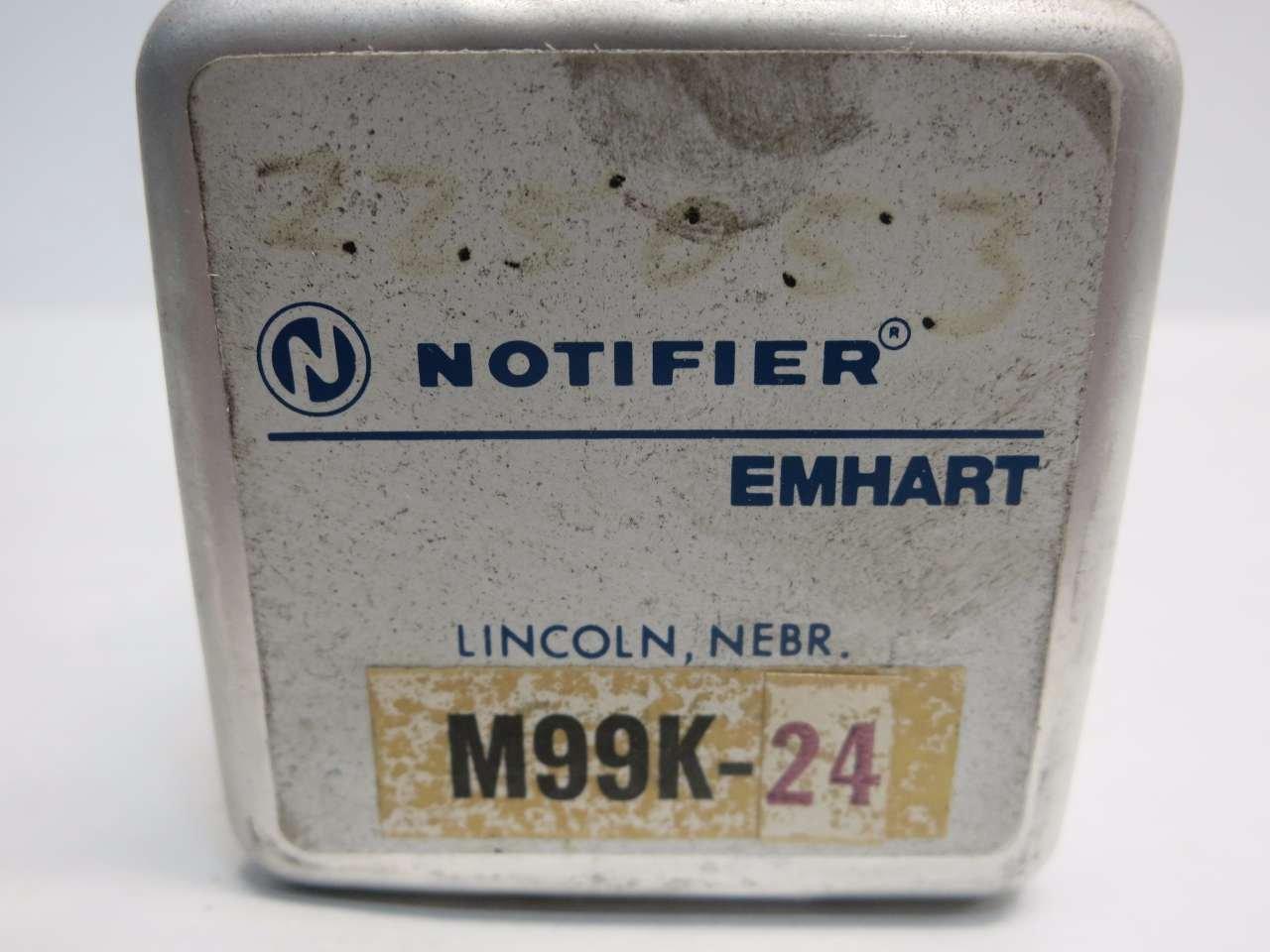 NOTIFIER EMHART M99K-24 RELAY D519093: Amazon com