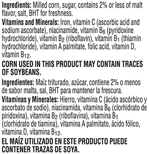 Kellogg's Fat-Free Breakfast Cereal, Frosted Flakes, 19.2 Ounce by Kellogg's (Image #2)