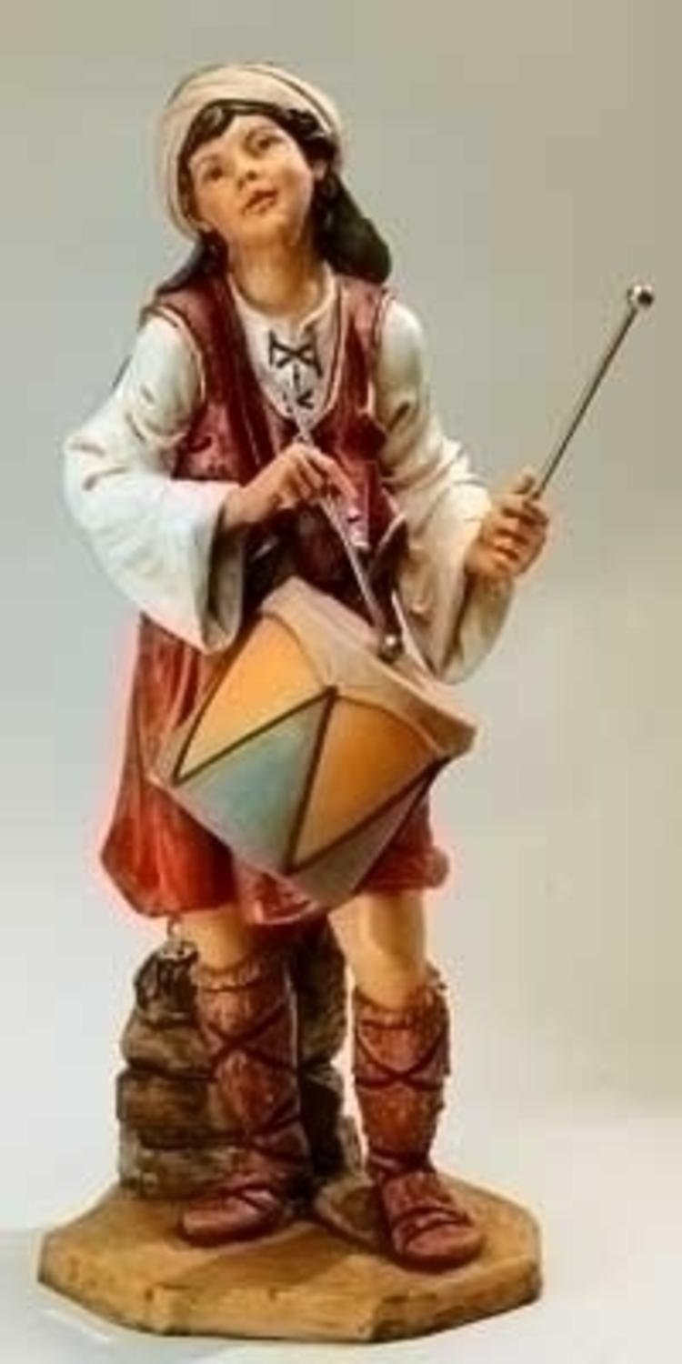 Fontanini 50'' Jareth The Drummer Boy Figure #52317