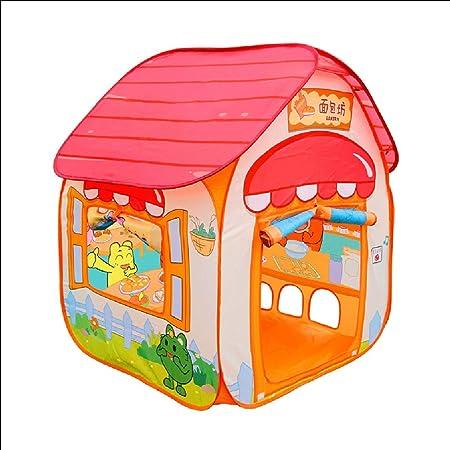 MLDOcarpa infantil Tienda de Juegos for niños con, Juguete de la casa del Pan de la casa del Juego del bebé, Conveniente for Interior, Exterior, jardín, Playa: Amazon.es: Hogar