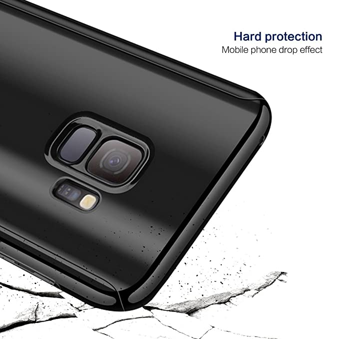 Amazon.com: Case Sumsung Galaxy S9/S8 Slim 360 Degree Full Body Protection 3 in 1 Plating Mirror Case Anti-Scratch S8/S9plus: Clothing
