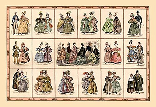 Buyenlarge Italian Fashion of 1833 - Composite #2-16