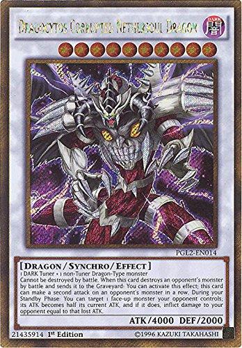 YU-GI-OH! - Dragocytos Corrupted Nethersoul Dragon (PGL2-EN014) - Premium Gold: Return of The Bling - 1st Edition - Gold Secret Rare