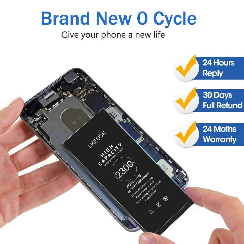 24 Months Warranty Adhesive Strips and Instruction for iP6S Only ...