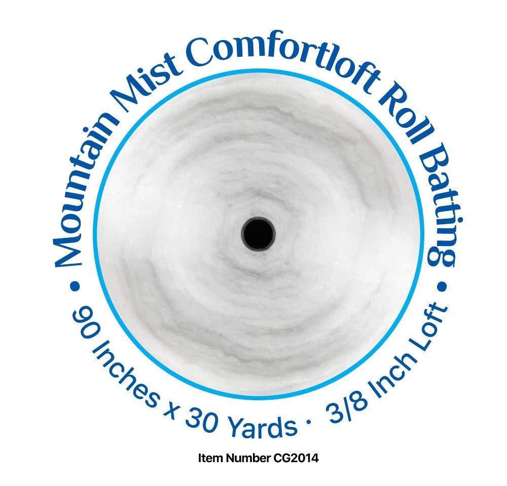 Comfortloft 100% Polyester Batting-by-the-yard- 90 Inch W