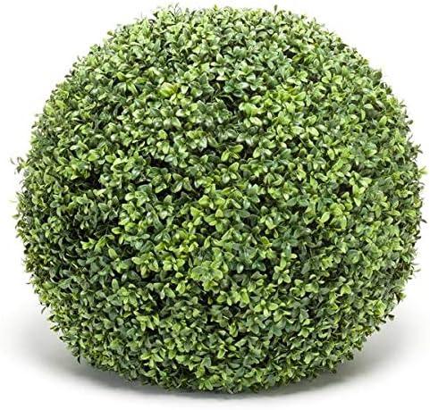 artplants.de Bola de boj Artificial TOM, Rejilla de plástico, Ø 50cm - Arbusto Decorativo - Seto Artificial: Amazon.es: Jardín
