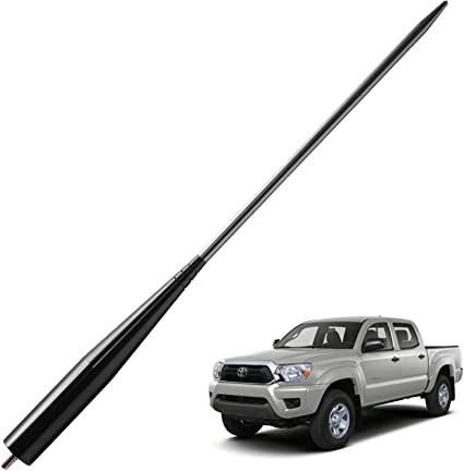 Titanium JAPower Replacement Antenna Compatible with Dodge Ram Trucks 1994-2019 4 inches