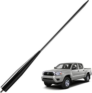 JAPower Replacement Antenna Compatible with Ford F-350 2011-2018 4 inches-Titanium