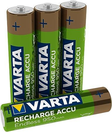 Varta Recharge Accu Endless Energy Aaa Micro Ni Mh Elektronik
