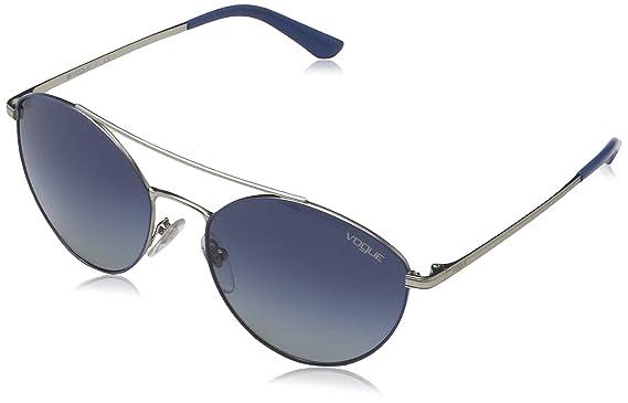 Amazon.com: anteojos de sol Vogue vo4023s 50254l-56 – Azul ...
