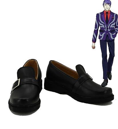 Tokyo Ghoul Anime Shuu Tsukiyama Cosplay Shoes Boots Custom Made