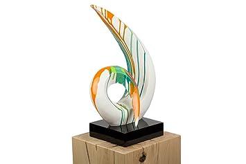 KunstLoft® Skulptur \'Aufbruch\' in 54x35x21cm   Moderne Kunststein ...