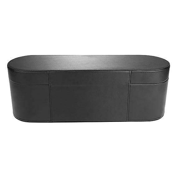 XIHAMA - Caja de almacenamiento para secador de pelo Dyson Supersonic, piel sintética, funda rígida con tapa para secador de pelo Dyson: Amazon.es: Belleza