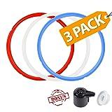 3 Pack Silicone Sealing Ring with Bonused Sealer