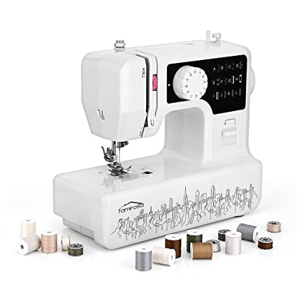 Amazon Sewing Machine Famirosa Portable Small Starter Sewing New Girls Sewing Machine